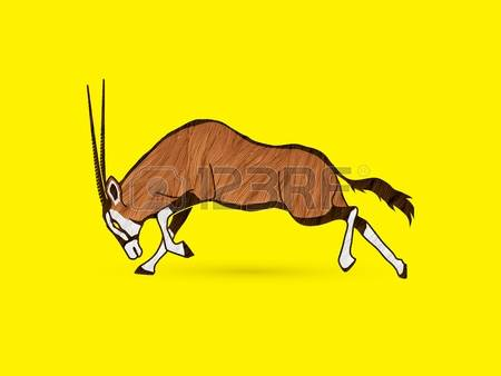 Oryx clipart #2, Download drawings
