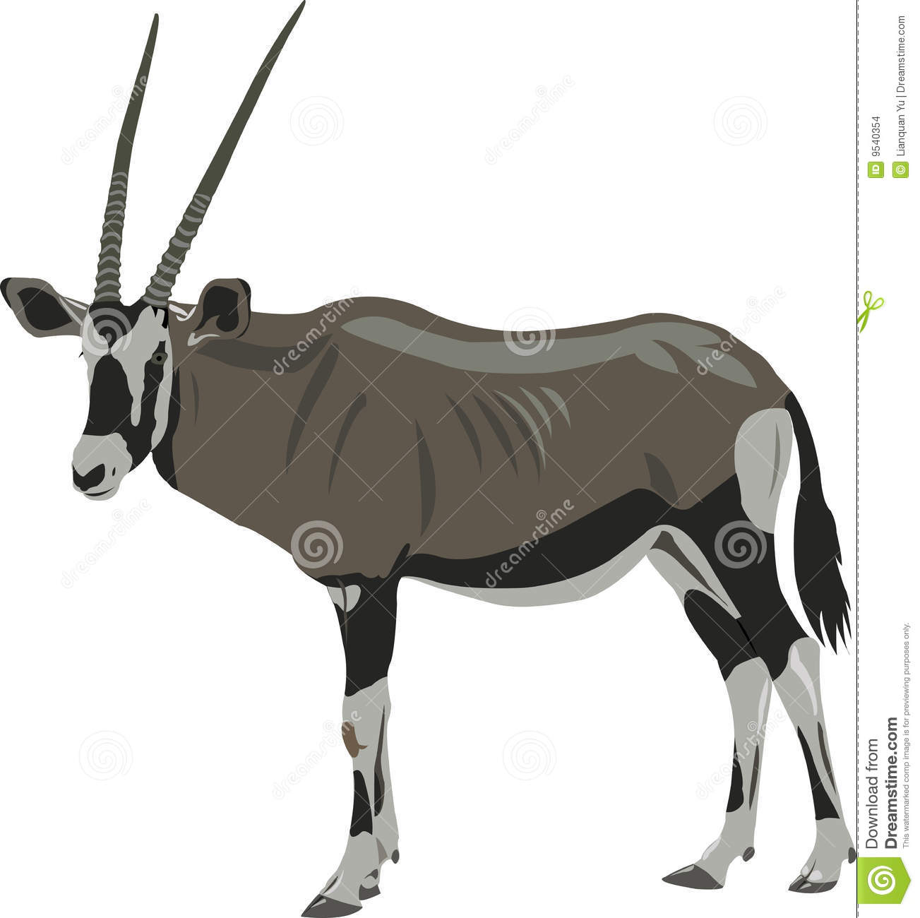 Oryx clipart #11, Download drawings