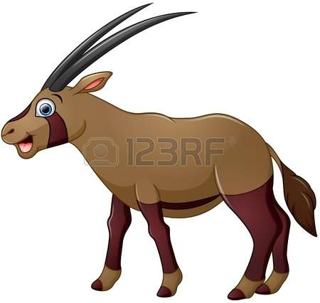 Oryx clipart #20, Download drawings