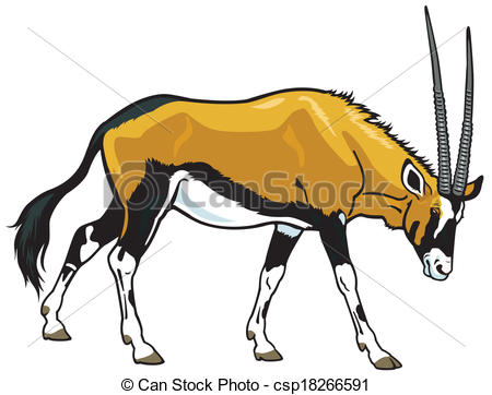 Oryx clipart #17, Download drawings