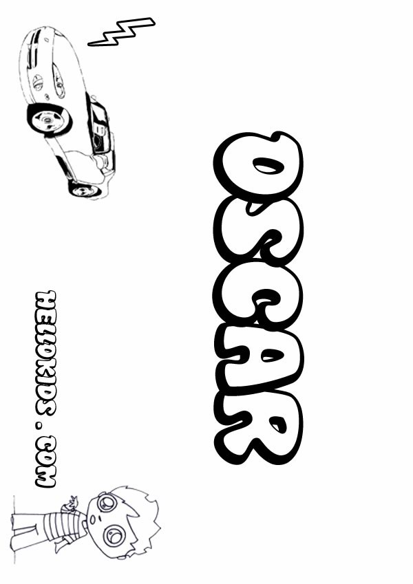 Oscar coloring #8, Download drawings