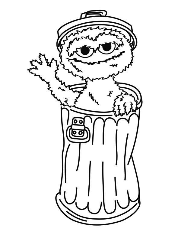 Oscar coloring #5, Download drawings