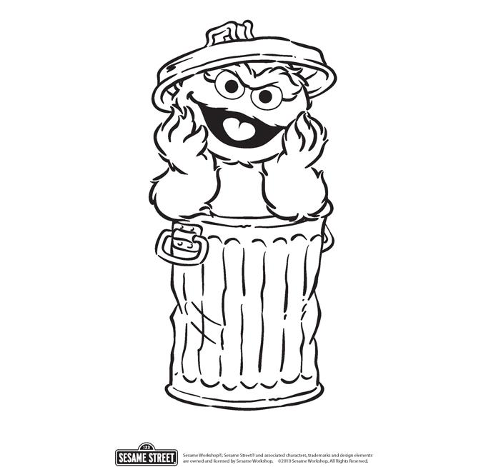 Oscar coloring #20, Download drawings