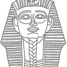 Osiris coloring #1, Download drawings