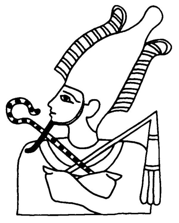 Osiris coloring #19, Download drawings