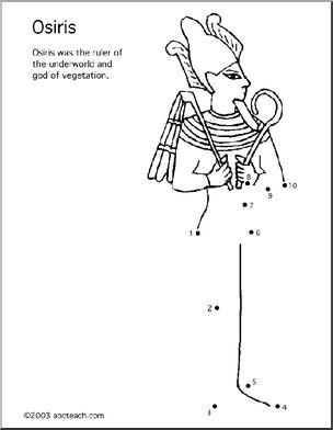 Osiris coloring #13, Download drawings