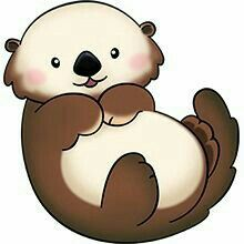 Otter clipart #11, Download drawings