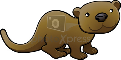 Otter clipart #7, Download drawings