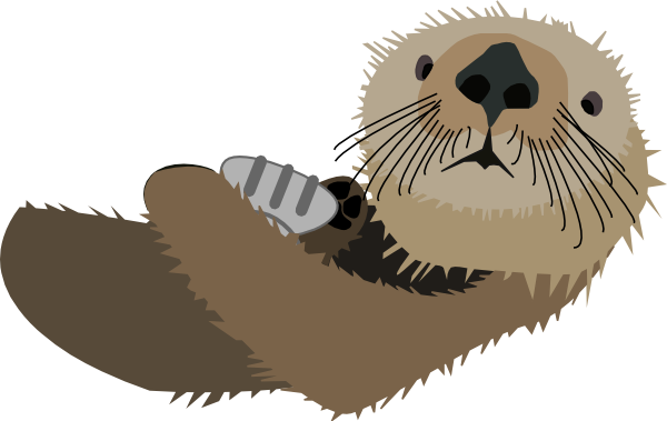 Otter clipart #15, Download drawings