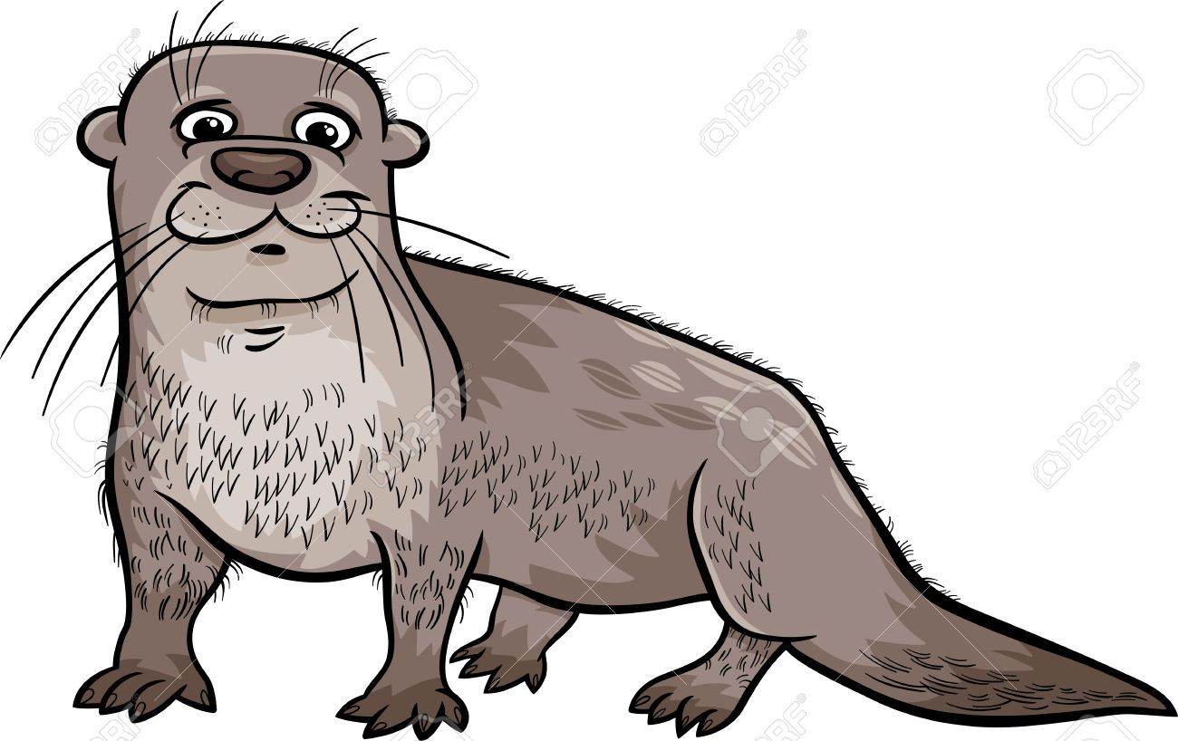 Otter clipart #1, Download drawings