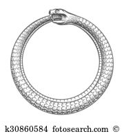 Ouroboros clipart #12, Download drawings