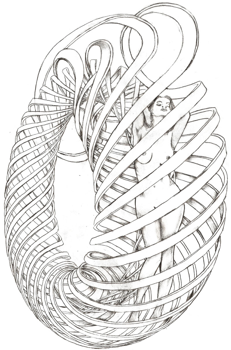 Ouroboros coloring #1, Download drawings
