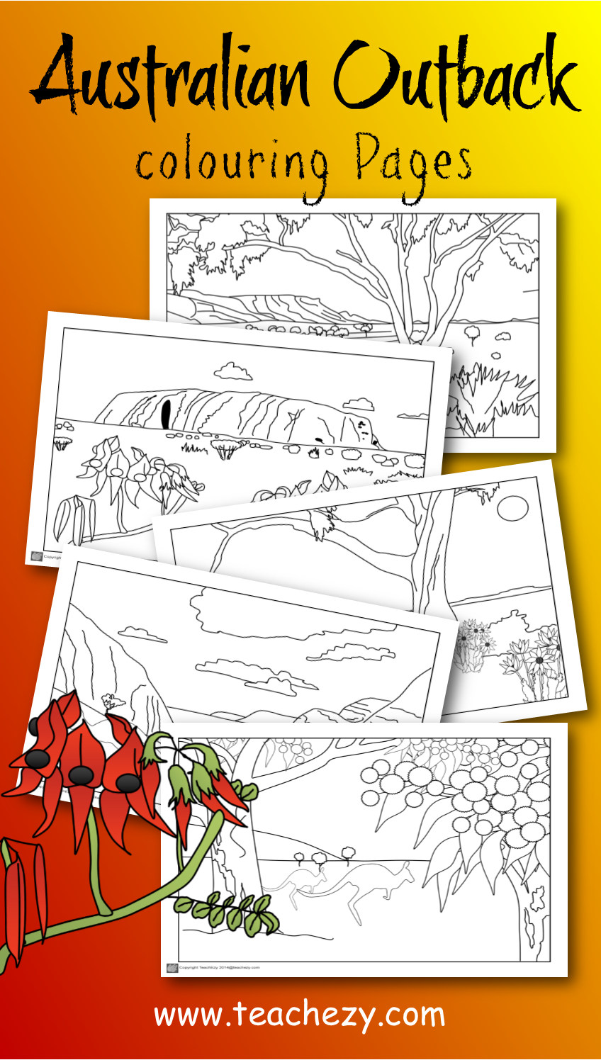 Outback coloring #12, Download drawings