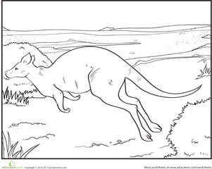 Outback coloring #8, Download drawings