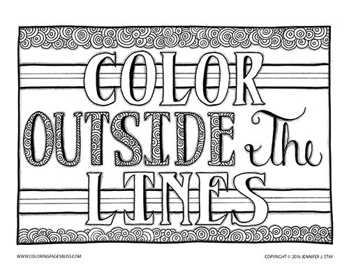 Outside coloring #3, Download drawings