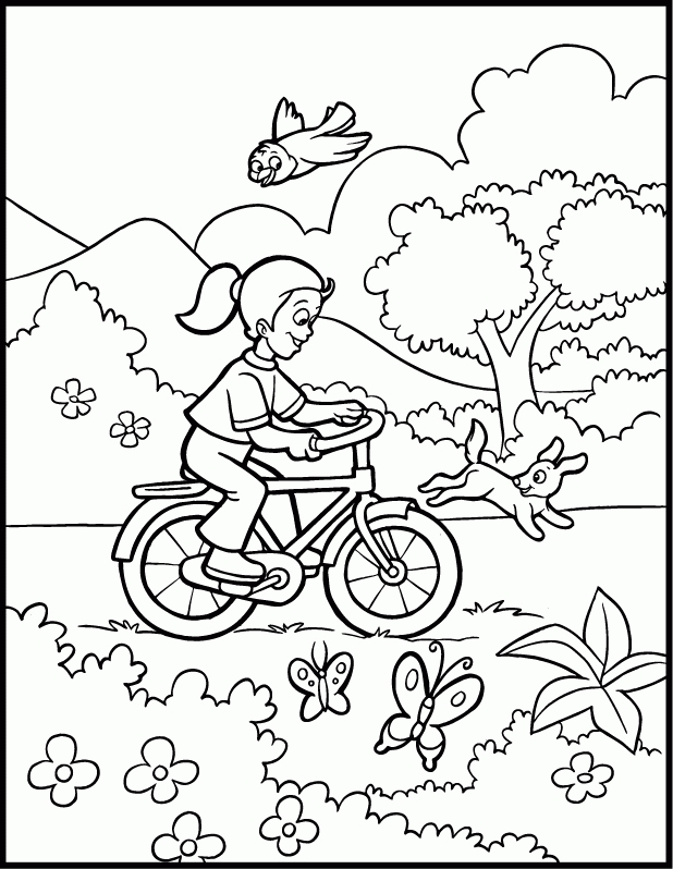 Outside coloring #11, Download drawings