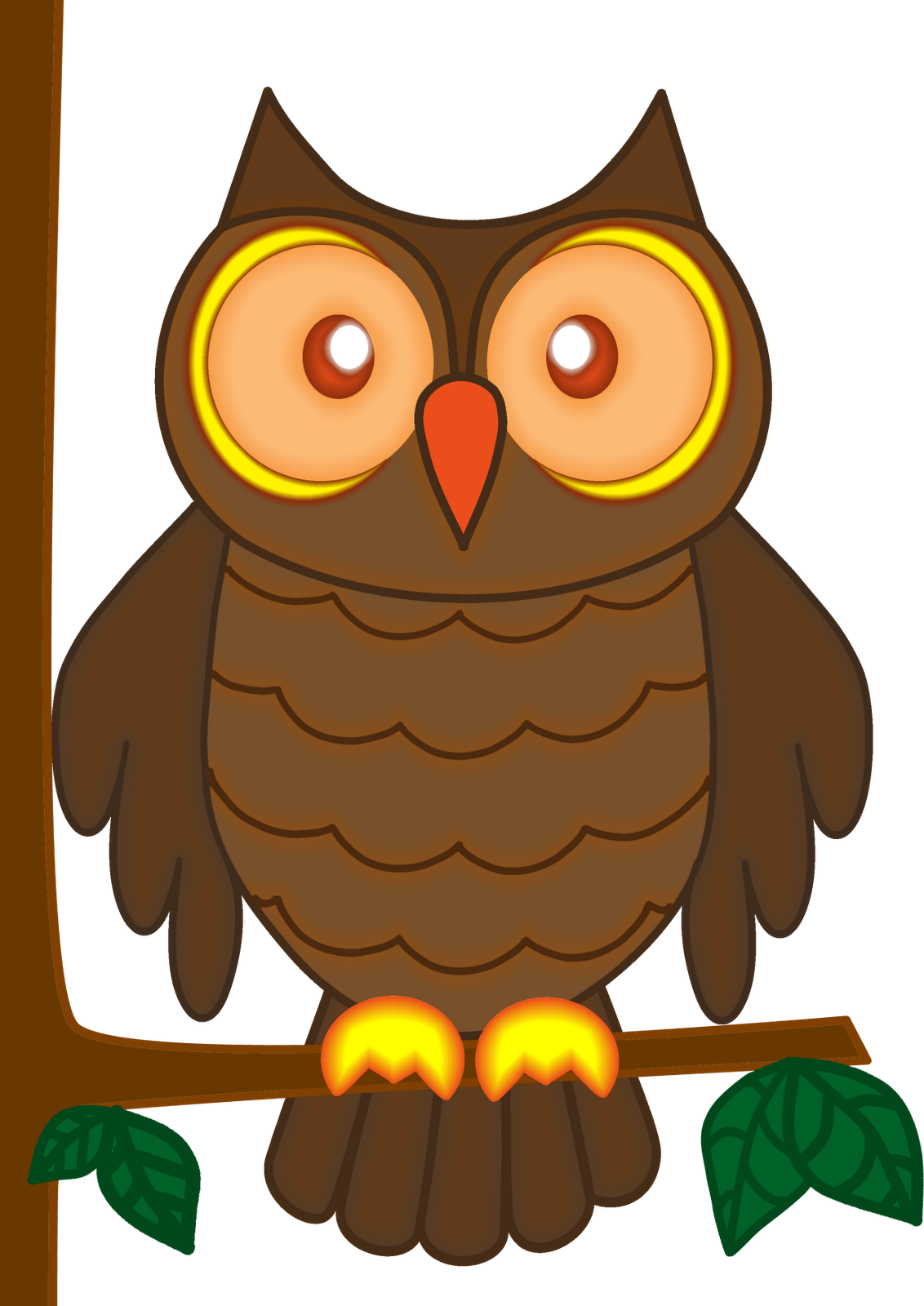 Owl clipart #1, Download drawings