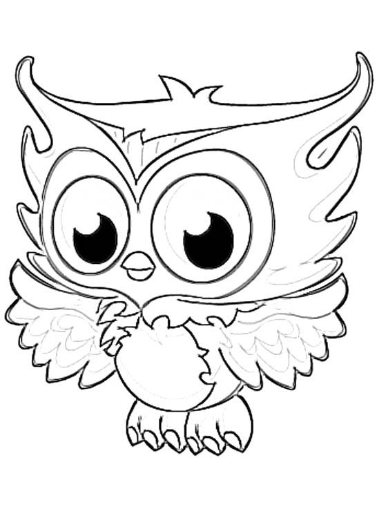 Owl coloring #11, Download drawings