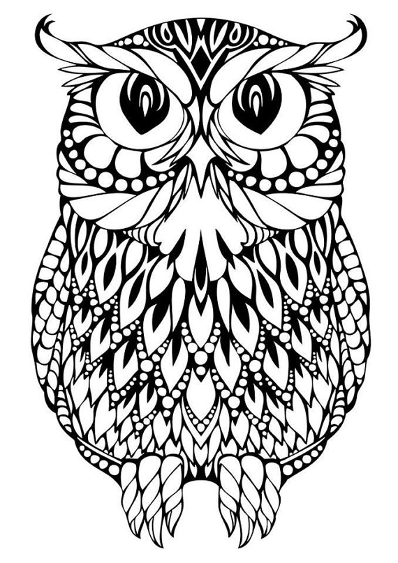 Owl svg #3, Download drawings