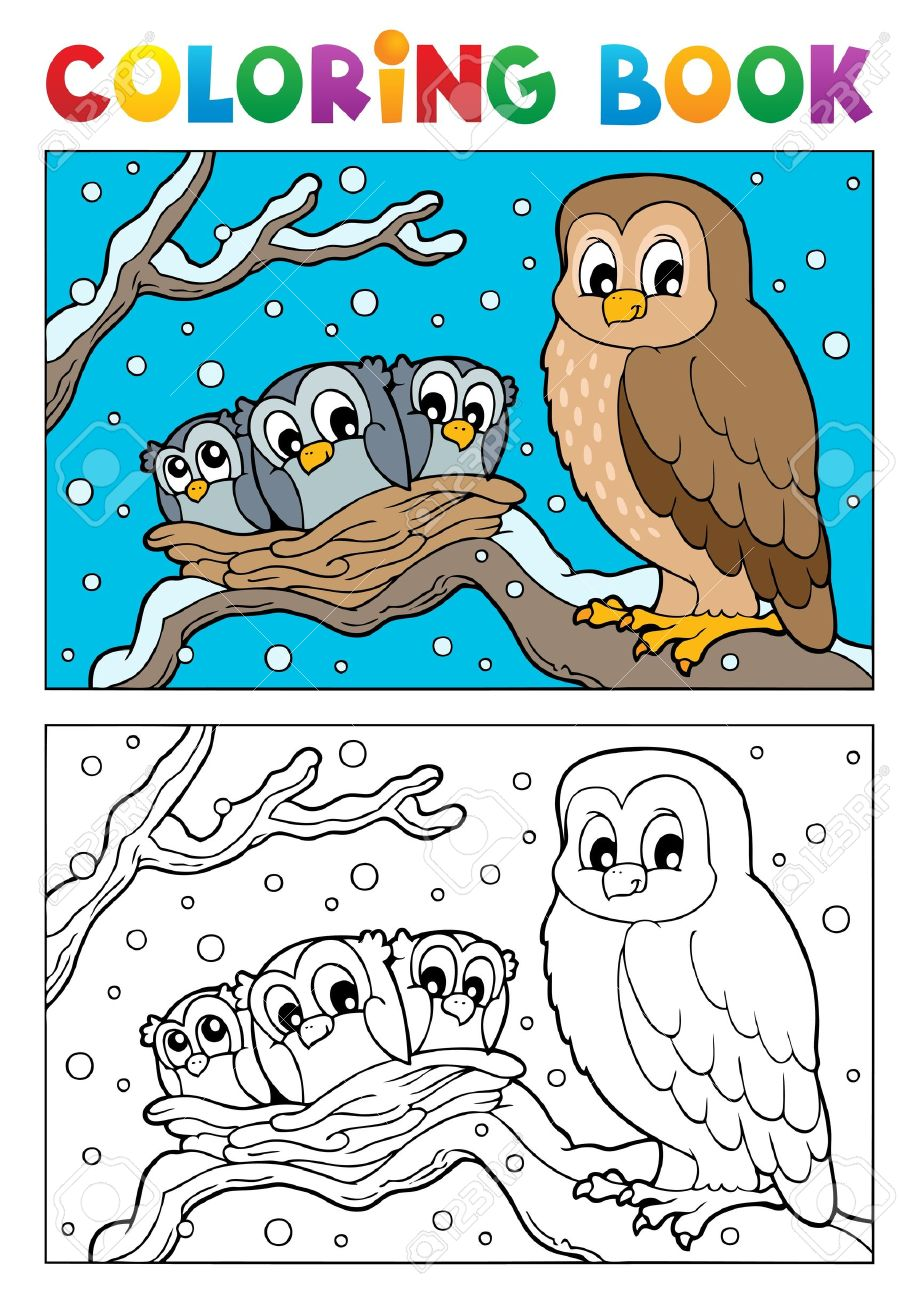 Owlet coloring #1, Download drawings