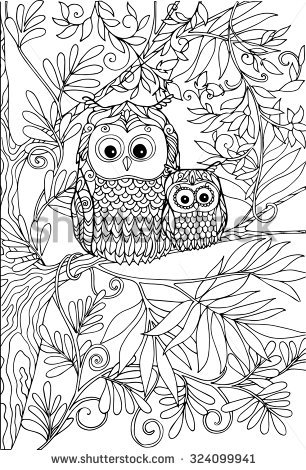 Owlet coloring #8, Download drawings