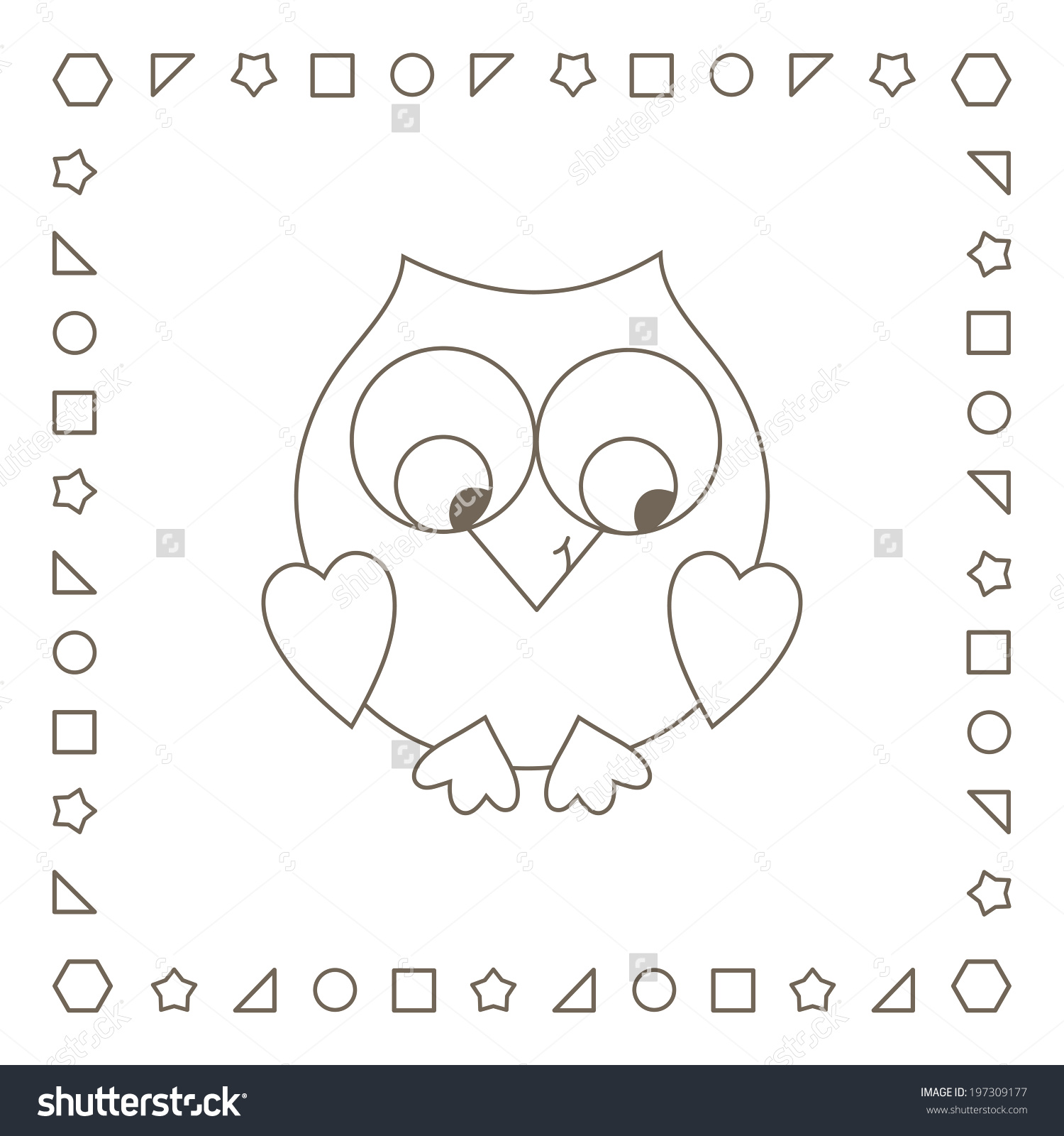 Owlet coloring #4, Download drawings