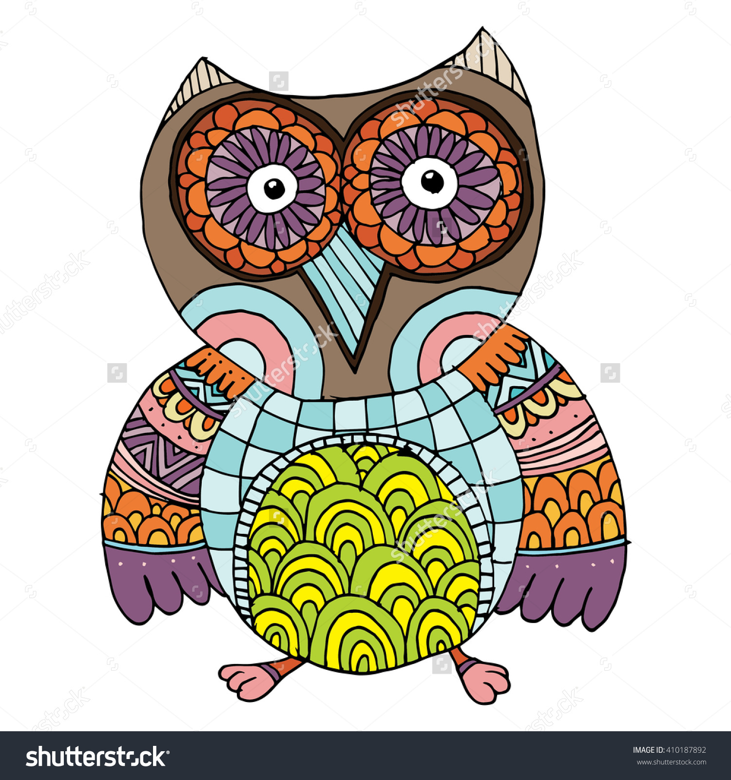 Owlfly coloring #1, Download drawings