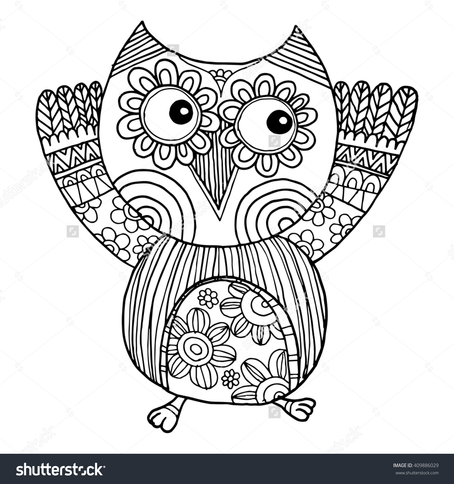 Owlfly coloring #16, Download drawings