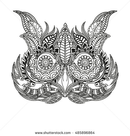 Owlfly coloring #4, Download drawings