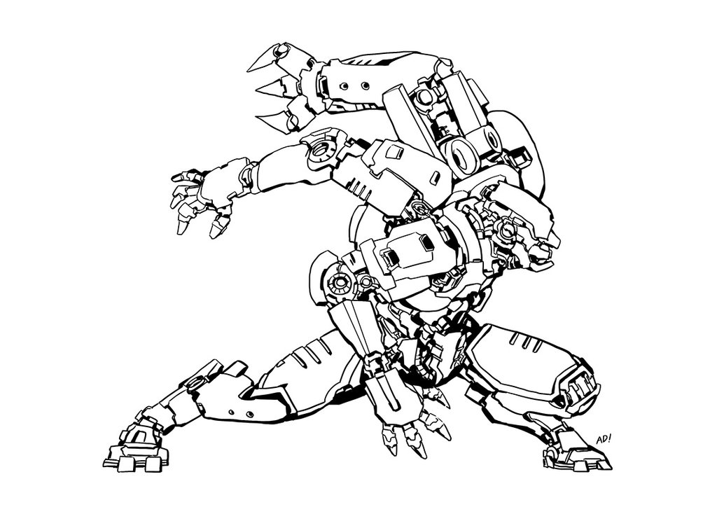 Crimson Typhoon Coloring Pages Gipsy Danger Pacific Rim