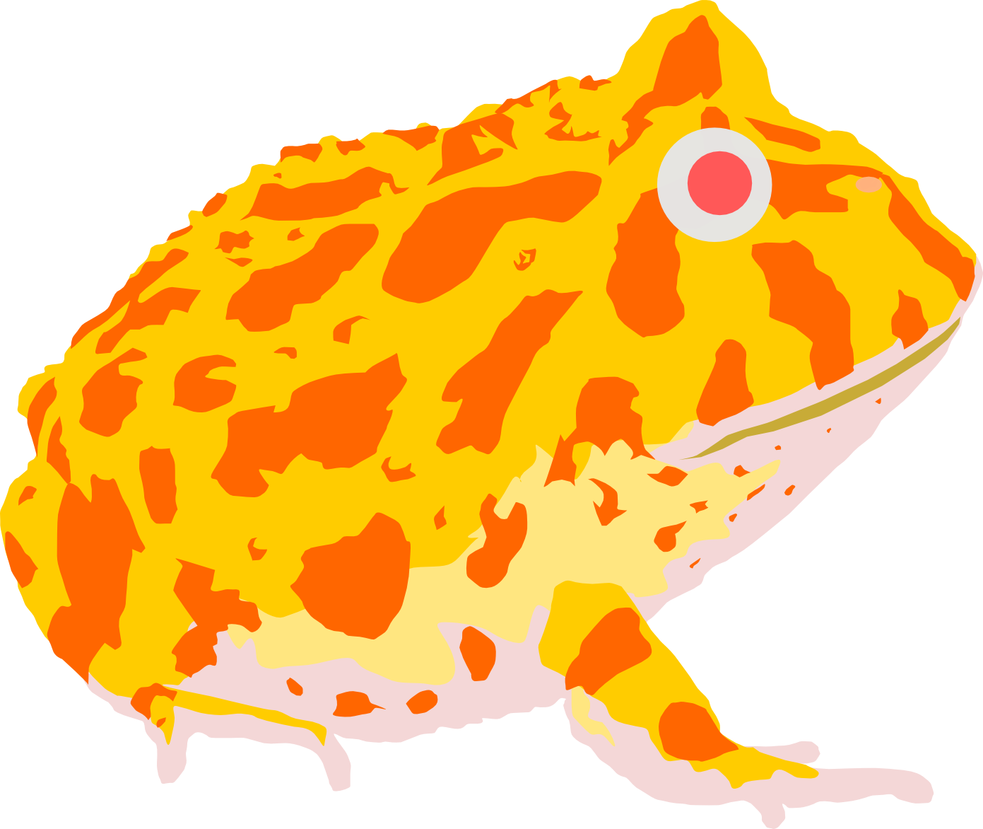 Pac-man Frog clipart #1, Download drawings
