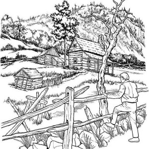 Paddy Field coloring #12, Download drawings
