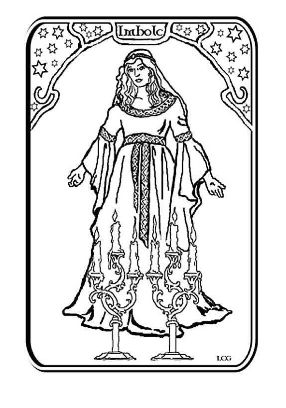 Wiccan coloring #19, Download drawings
