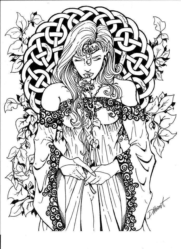 Pagan coloring #13, Download drawings