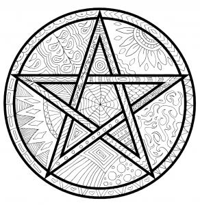 Pagan coloring #15, Download drawings
