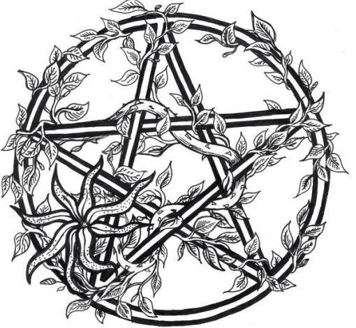 Pagan coloring #6, Download drawings