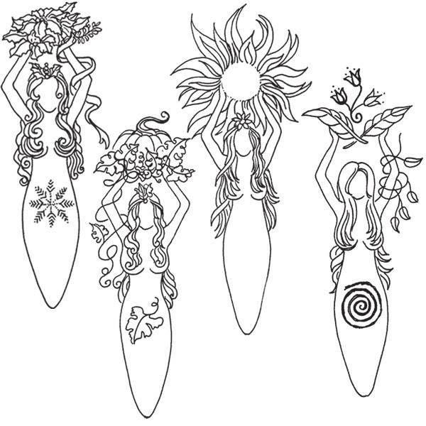 Pagan coloring #16, Download drawings