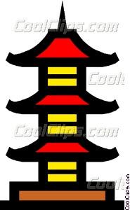 Pagoda clipart #14, Download drawings