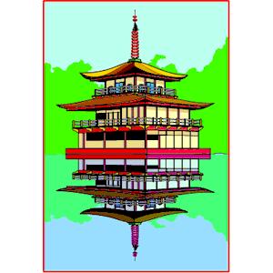 Pagoda clipart #10, Download drawings