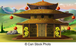 Pagoda clipart #6, Download drawings