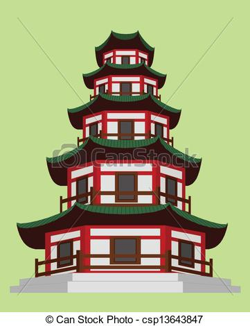 Pagoda clipart #18, Download drawings
