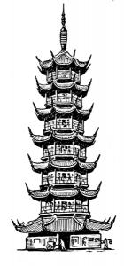 Pagoda clipart #9, Download drawings