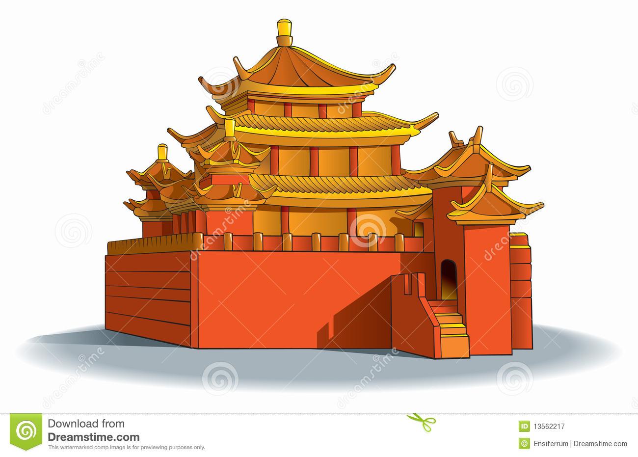 Pagoda clipart #1, Download drawings