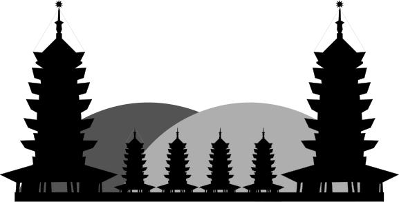 Pagoda clipart #12, Download drawings