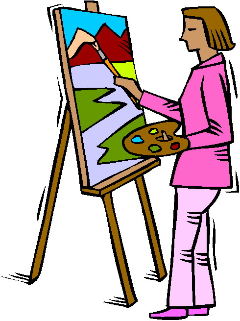 Painting clipart #4, Download drawings