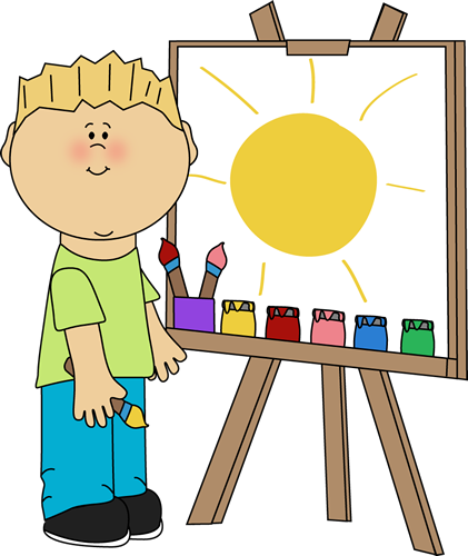 Painting clipart #1, Download drawings