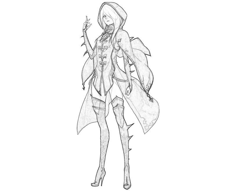 Sorceress coloring #17, Download drawings