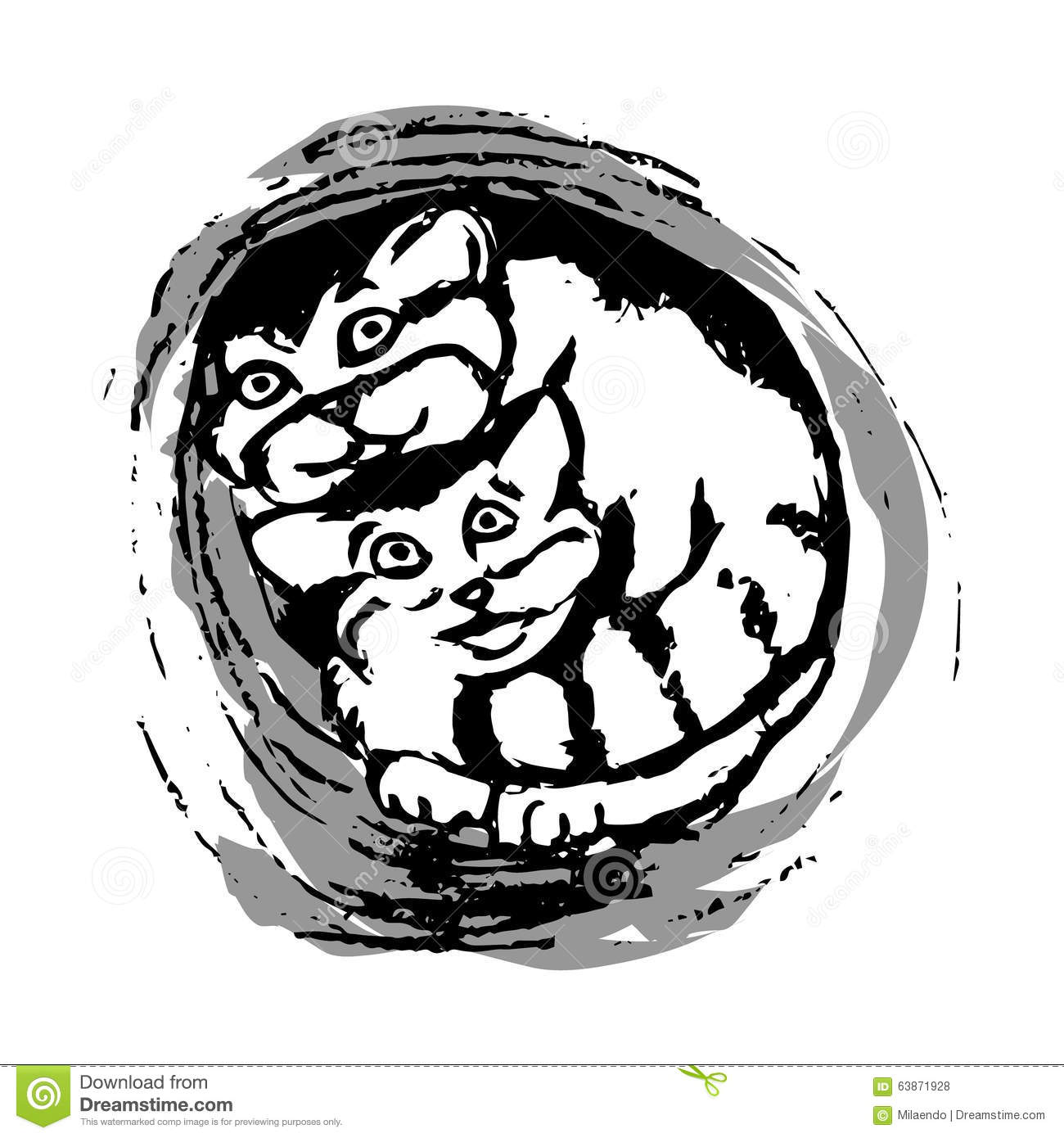Palla's Cat clipart #11, Download drawings
