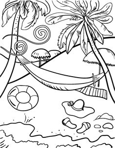 Palm Beach coloring #13, Download drawings