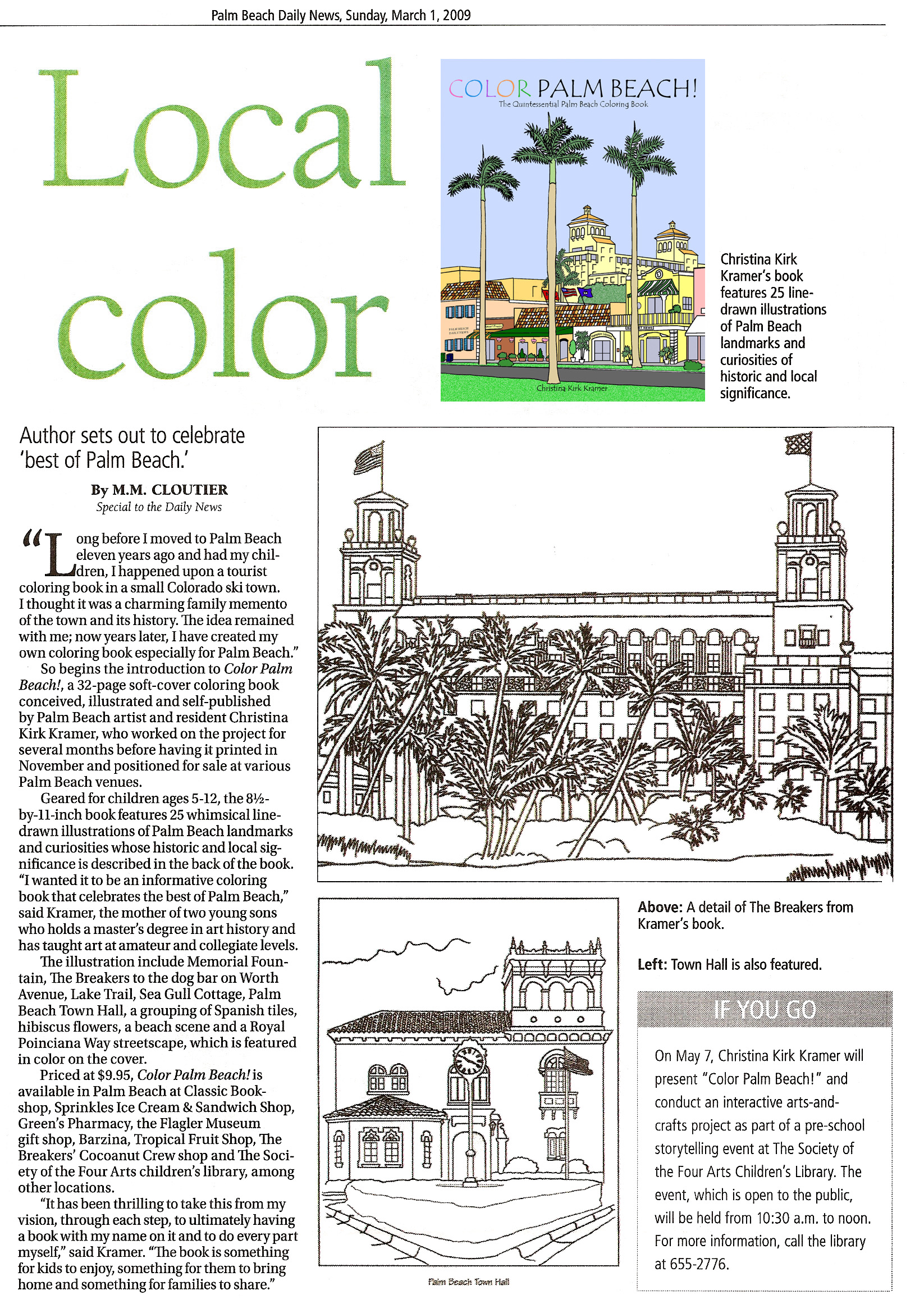 Palm Beach coloring #19, Download drawings